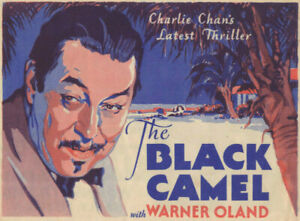 THE BLACK CAMEL - Vintage 1931 CHARLIE CHAN Fox Film MOVIE HERALD Bela Lugosi