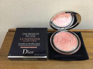 Dior Diorskin Nude Luminizer CORAL VIBES 002 Highlighter 0.21oz 6g NIB LTD ED