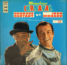 "GEORGES GUETARY / JEAN RICHARD ""MR CARNAVAL"" 60'S LP PATHE 340.636"
