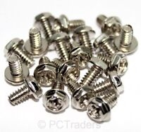 20x 6-32 6mm Coarse PC Computer Case Expansion Card PSU Screws