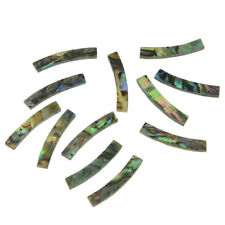 Ukulele Rosette Paua Abalone Shell Curved Strips Soundhole Inlay 75x3mm