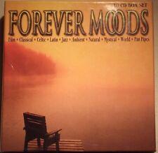 "Forever Moods 10 CD Easy Listening Box Set*** Free P & P ""Worth £2.79***"