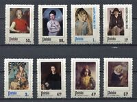 35875) Poland 1974 MNH Polish Paintings Of Children 8v