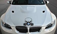 BMW Cofano motore Adesivo Pistone Teschio Shocker Edizione Limitata Power