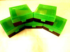 223/5.56 ammo case / box 100 round (5) X (ZOMBIE GREEN) 223 556 BERRY' MFG