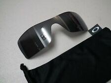 Authentic Oakley Batwolf Polarized Black Iridium Replacement Sunglasses Lens