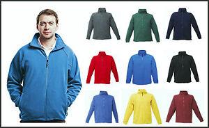 Regatta fleece Professional Mens Thor Full Zip Fleece Jacket Coat work fleece