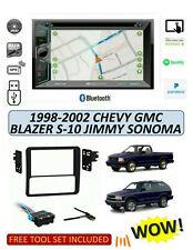 1998-02 Chevrolet Blazer S-10 GMC Jimmy Sonoma STEREO KIT, BLUETOOTH TOUCHSCREEN