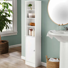 more photos 43019 932d6 narrow bathroom cabinet products for sale | eBay