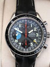 OMEGA SPEEDMASTER MK40 Schumacher Chronograph Triple Date AM/PM