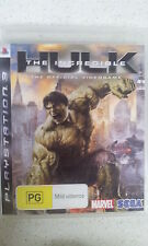 the incredible hulk ps3