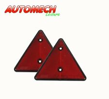 Maypole Rear Reflective Warning Triangles, for Caravan & Trailer (PAIR) (16)