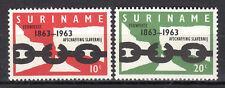 Suriname - 1963 100 years end of slavery Mi. 433-34 MNH