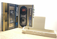 Vintage Sony WM-10 Walkman With Belt Clip, Refurbished And Fully Functional.