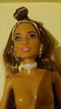 NEW PLASTIC WHITE PEARLIZED CHOKER NECKLACE FOR BARBIE DOLL