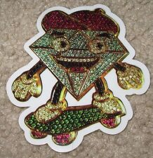 DIAMOND SUPPLY CO Logo Skate Sticker Bling Skater skateboards helmets decal