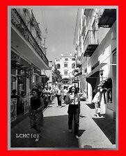 FOTOGRAFIA PHOTO VINTAGE B/N BLACK WHITE CAPRI NEGLI ANNI '70 NAPOLI CAMPANIA
