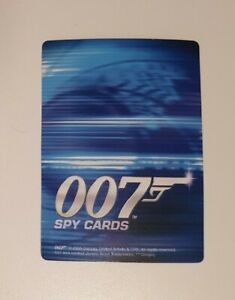 James Bond 007: Spy Cards CCG Trading Card Singles (Danjaq, 2006) *YOU CHOOSE*