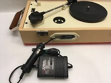 DC Car Plug Charger Adapter for Crosley Cruiser Portable Turntable Record Player