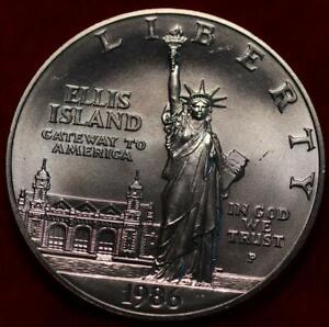 Uncirculated 1986 Ellis Island Silver Dollar Round