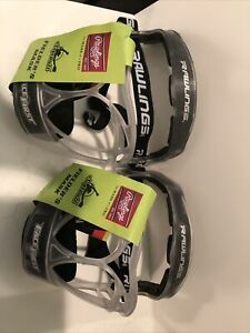 LOT OF 2 - RAWLINGS SOFTBALL FIELDERS MASKS - YOUTH - WIDE VISION AREA - NEW!!