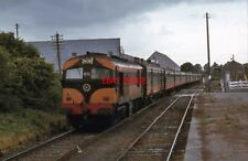 PHOTO  MOGEELY CIE 001 CLASS LOCOMOTIVE NO. 032 HAULS A CORK - YOUGHAL SUMMER SU