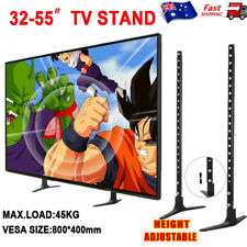 Universal Table Top TV Stand Legs Bracket Mount Base for 32 55'' LCD LED Screen