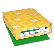Neenah Astrobrights Colored Paper, 24lb, 8 1/2 x 11,Gamma Green ,500 Sheets/Ream