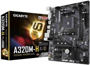 Gigabyte A320M-H AMD Ryzen DDR4 Micro ATX Socket AM4 Motherboard