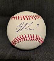 Joe Mauer Signed Official Baseball Selig Ball ORMLB Autographed