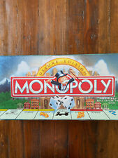 Monopoly DELUXE EDITION Parker Brothers Real Estate Trading Game 1995