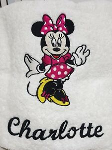 Embroidered Towel - Minnie Mouse .. .. .