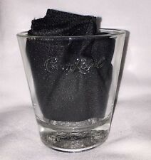 Crown Royal Whiskey Drink Glass Embossed 8oz. Glass