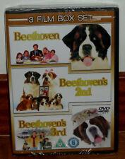 PACK BEETHOVEN 1, 2, 3 PRECINTADO NUEVO 3 DVD COMEDIA ESPAÑOL (SIN ABRIR) R2
