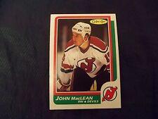 1986-87 OPC O-Pee-Chee #37 John MacLean Rookie New Jersey Devils - nrmt