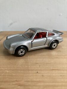 Porsche Turbo Matchbox Superfast 1-75 Silver NO 3 1979 MB3 1:64 UK