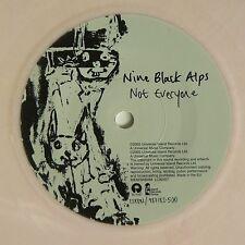 NINE BLACK ALPS - NOT EVERYONE 2005 white / pink colored vinyl EX- P/S UK indie