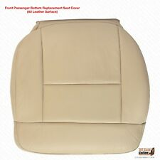 2004 Ford F150 Lariat PASSENGER Bottom Leather Replacement Seat Cover Light Tan