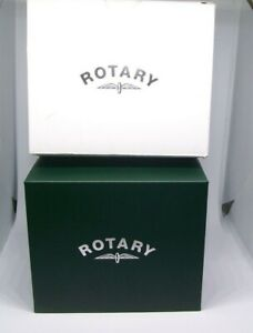 ROTARY EMPTY WATCH BOX DISPLAY CASE