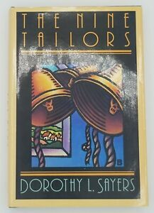 """Lord Peter Wimsey: """"The Nine Tailors"""" by Dorothy L. Sayers (1989, Hardcover)"""