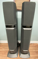 PAIR of SONY SAVA 500 HOME THEATER ACTIVE SPEAKER SYSTEM