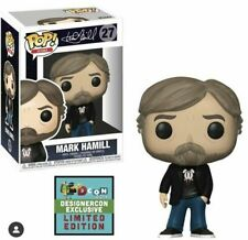 Funko Pop Icons Mark Hamill Big Bang Theory Oufit Designer Con 2019 Pre Order