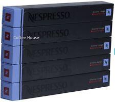 50 New original Nespresso Vivalto Lungo Decaf flavour coffee Capsules Pods UK