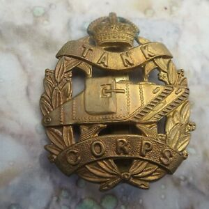 The Royal Tank Corps British Army/Military Hat/Cap Badge