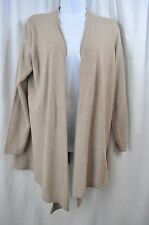 Petites 100% Cashmere Cardigan Solid Sweaters for Women
