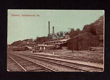 Postcard Tunkhannock PA Tannery Wyoming County
