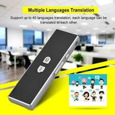 Smart Voice Translator Portable Two-Way Real Time 40 Language Translation Us