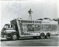 TOMMY IVO AUTOGRAPH DRAG RACER & CHILD ACTOR SIGNED PHOTO