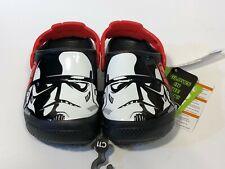 Crocs Stormtroopers Clog Star Wars Black/White Toddler Size 5, 6 GLOW IN DARK