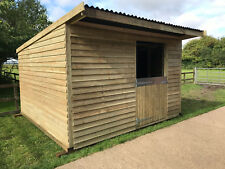 12x12 mobile field shelter stable i can deliver erect nation wide call for quote